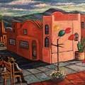 Casas Rosadas by Randy Burns