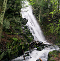 Cascade Falls No. 1, Farmington, Maine #30418 by John Bald