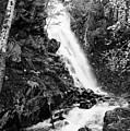 Cascade Falls No. 2, Farmington, Maine #30418-bw by John Bald
