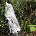 Cascade Falls No. 3, Farmington, Maine #30385 by John Bald