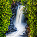Cascade - Lower Falls by Rikk Flohr
