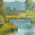 Cascade Pond by Robert Bissett