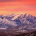 Cascade Ridge Sunrise by Johnny Adolphson