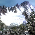 Cascade Splendor  Mount Fury by Sherry Shipley