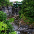 Cascadilla Gorge Cornell University Ithaca New York 01 by Thomas Woolworth