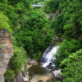 Cascadilla Waterfalls Cornell University Ithaca New York 01 by Thomas Woolworth