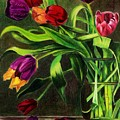 Cascading Tulips by Patti Ferron