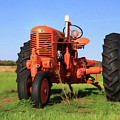 Case Tractor by Lori Deiter