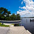 Casey Key Swing Bridge Open For Boats by Rolf Bertram