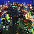 Casino Pier At Seaside Heights by James Kirkikis