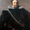 Caspar De Guzman Count Of Olivares Diego Rodriguez De Silva Y Velazquez by Eloisa Mannion