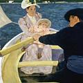 Cassatt: Boating, 1893-4 by Granger