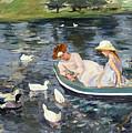Cassatt: Summertime, 1894 by Granger