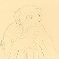 Cassive by Henri De Toulouse-lautrec