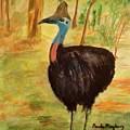 Cassowary Bird by Paula Maybery
