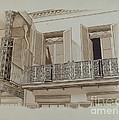 Cast Iron Balcony Rail by Joseph L. Boyd