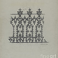 Cast Iron Fence by Charlotte Angus