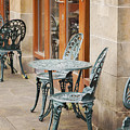 Cast Iron Garden Furniture by Sophie McAulay