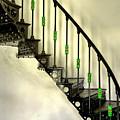Cast Iron Stair by S Paul Sahm