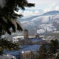 Castel Del Monte Abruzzo Italy by Tom  Doherty
