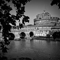 Castel Sant'Angelo.Roma. Tiber river Duvet Cover for Sale ...