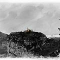 Castellane, France On The Route Napoleon by Al Bourassa