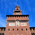 Castello Sforzesco Tower by Valentino Visentini