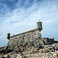 Castelo Do Queijo Old Fort Landmark In Porto Portugal by Jacek Malipan