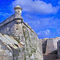 Castillo El Morro Havana Cuba  by David Zanzinger
