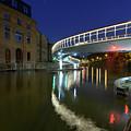 Castle Bridge A By Night Bristol England by Jacek Wojnarowski