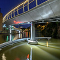 Castle Bridge C By Night Bristol England by Jacek Wojnarowski