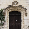 Castle Entrance Door by Christiane Schulze Art And Photography