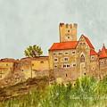 Castle Hardegg by Angeles M Pomata
