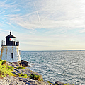 Castle Hill Lighthouse In Summer Horizontal by Marianne Campolongo