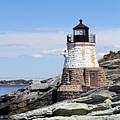 Castle Hill Lighthouse Newport Rhode Island 1 by John Van Decker