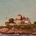 Castle Hill Newport Ri by Betty Ann Morris