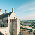 Castle In Chinon by Luis Ganilho