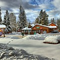 Castle Mountain Chalets Panorama by Adam Jewell