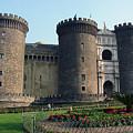 Castle Nuovo Naples Italy by Brett Winn