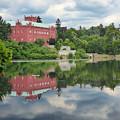 Castle On The Lake by Miroslav Nemecek