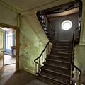 Castle Stairs - Abandoned Building by Dirk Ercken