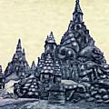 Castles On The Beach by Keith Dillon