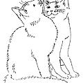 Cat-art-curious by Gordon Punt