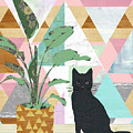 Cat Collage by Claudia Schoen
