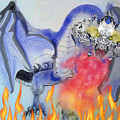 Cat Dragon by Subbora Jackson