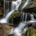 Cat Gap Loop Trail Waterfall by Donnie Whitaker