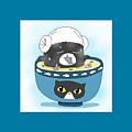 Cat In Food by Lai Ann Key