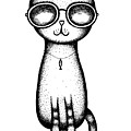 Cat In The Glasses by Cococinema