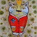 Cat-king by Lidia Matviyenko