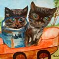 Cat Mischief by Paula Maybery